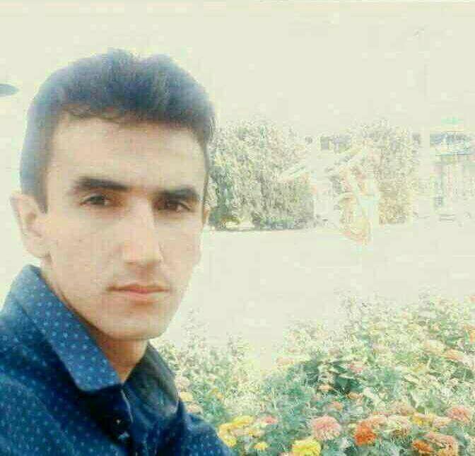 تصویر مسعود کیانی قلعه سردی از شهدای راه آزادی، یکشنبه دهم دی ماه